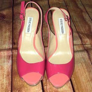 Steve Madden platform heels - size 8